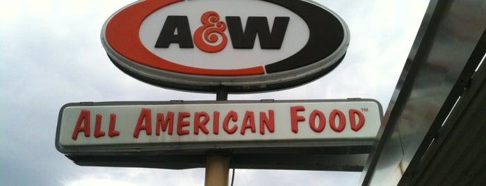 A&W Restaurant is one of Syr Bucket List.
