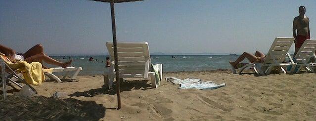 Sigorta Beach is one of Tempat yang Disukai Gurkan.