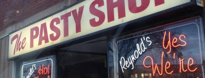 Pasty shop is one of Restaurants.