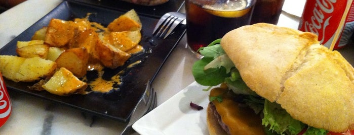 El Santo del Born is one of Barcelona's Burgers.