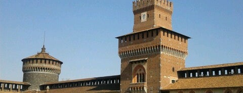 Castillo Sforzesco is one of Bella Italia.