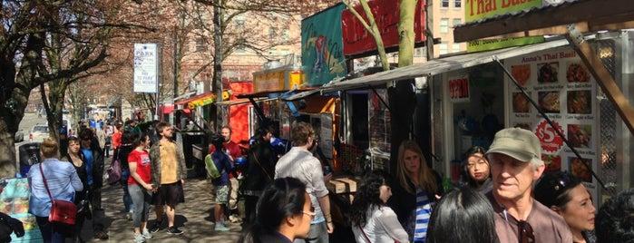 Alder Food Carts is one of Keep Portland Weird.
