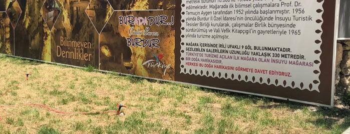 İnsuyu Mağarası is one of Isparta.