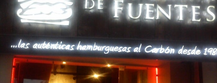 La Cabaña de Fuentes is one of Hamburguesas DF.