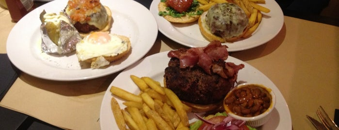 New York Burger is one of Hamburguesas en Madrid.