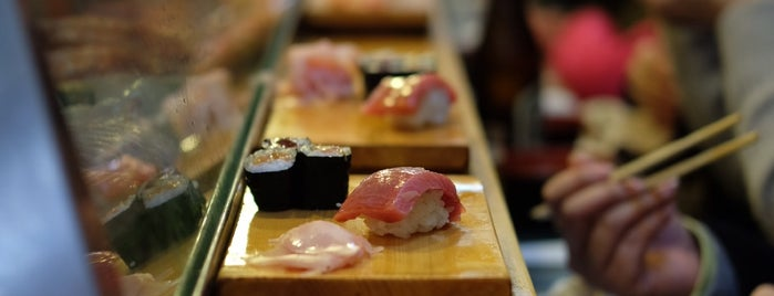Daiwa Sushi is one of Travel Guide to Tokyo.