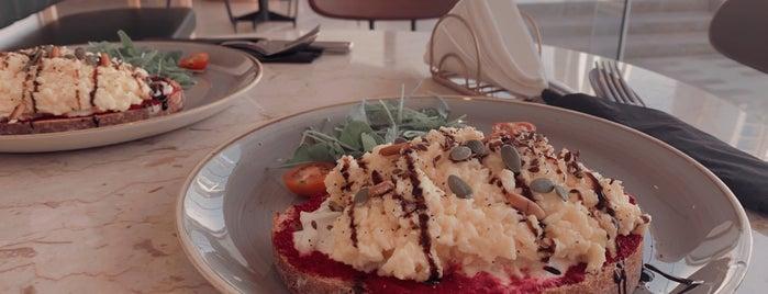 MASAFH is one of Breakfast   Riyadh 🍳💛.