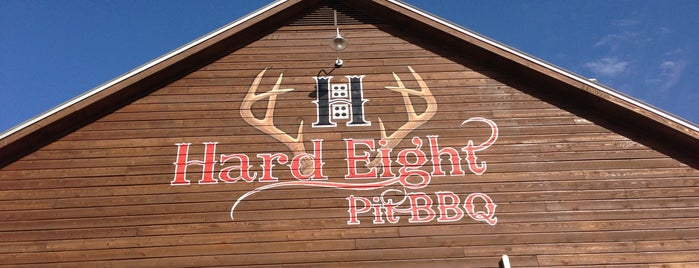 Hard Eight BBQ is one of JW 🙌さんのお気に入りスポット.