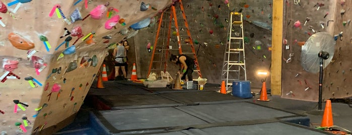 Nevada Climbing Center is one of things to do around sunrise coffee.