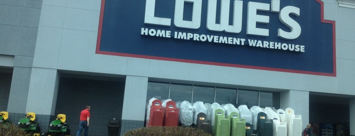 Lowe's Home Improvement is one of Places I have been to.