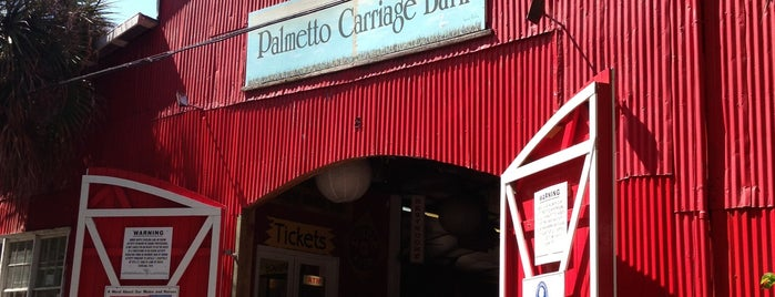 Palmetto Carriage Works is one of Charleston SC.