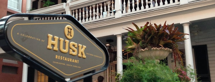 Husk is one of Good Eats Charleston.