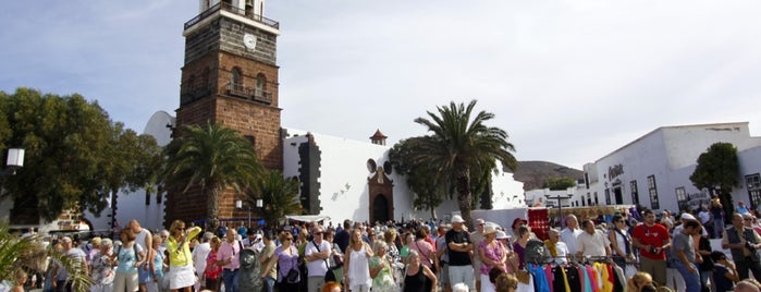 Mercadilllo de Teguise is one of Lanzarote, Spain.