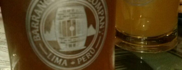 Barranco Beer Company is one of MasterList: Cerveza Artesanal         Lima-Perú.