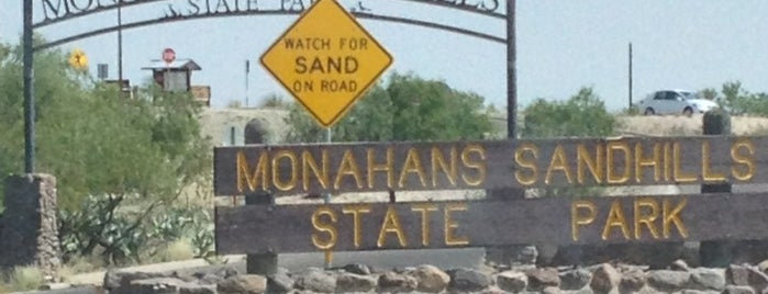 Monahans Sandhills State Park is one of camping 2013.