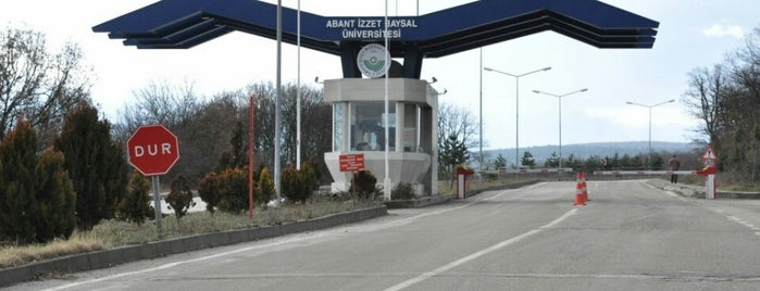 Abant İzzet Baysal Üniversitesi is one of melih.