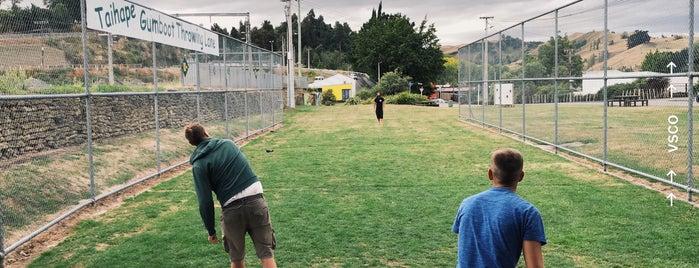 Taihape Gumboot Throwing Lane is one of Ozzie Kiwi.