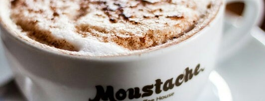 Moustache Coffee House is one of Lugares favoritos de Aysegul.