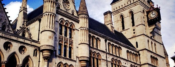 Royal Courts of Justice is one of London.
