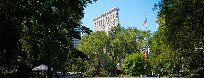 Madison Square Park is one of NYC.