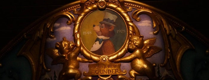 Country Bear Jamboree is one of Walt Disney World.