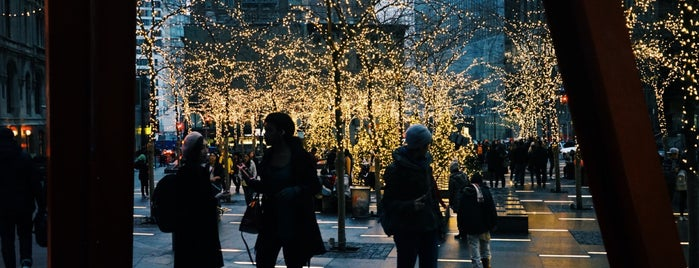 Zuccotti Park is one of Lower Manhattan.
