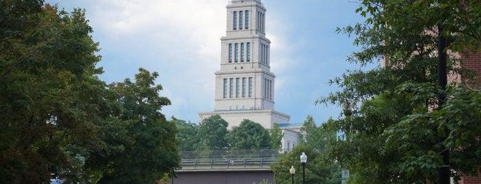 George Washington Masonic National Memorial is one of DC Metro.