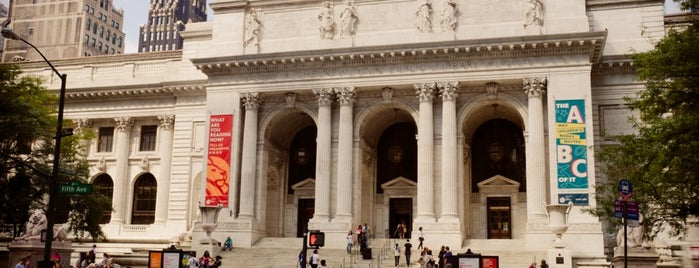 Biblioteca Pública de Nueva York is one of Architecture - Great architectural experiences NYC.