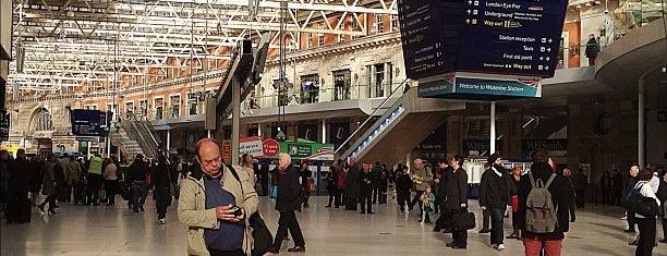 London Waterloo Railway Station (WAT) is one of London.