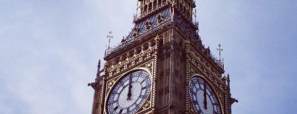 Elizabeth Tower (Big Ben) is one of London.