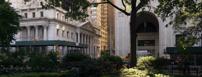 Madison Square Park is one of NYC Arts.