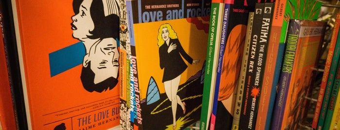 JHU Comic Books is one of Murray Hill.