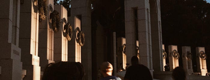 World War II Memorial is one of DC Metro.