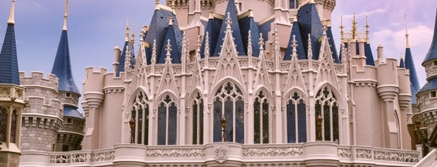 Cinderella Castle is one of Walt Disney World.