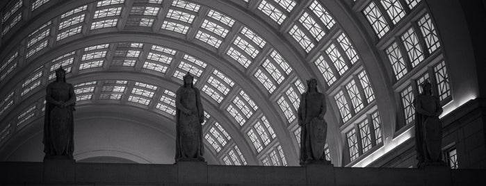 Union Station is one of DC Metro.