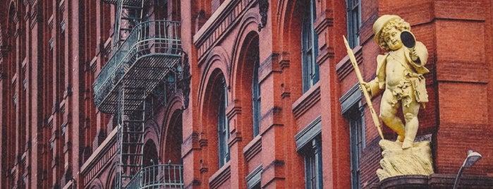 Puck Building is one of NY'ın En İyileri 🗽.