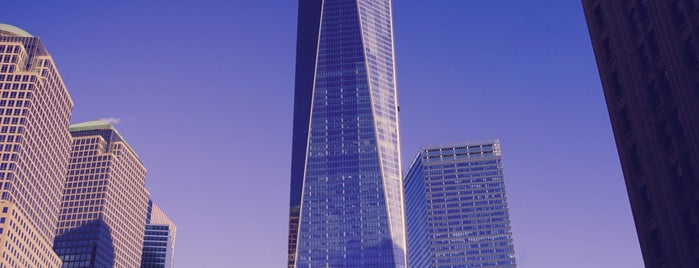 One World Trade Center is one of Lower Manhattan.