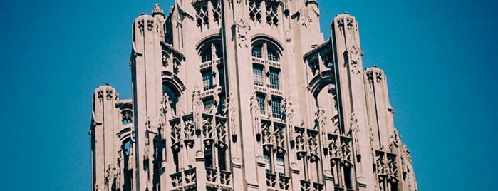 Chicago Tribune is one of Architecture.