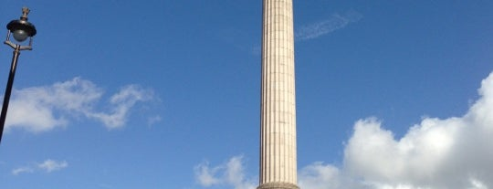 Nelson's Column is one of London.