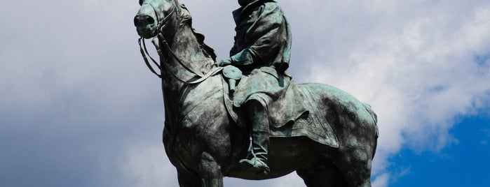 Ulysses S. Grant Memorial is one of DC Metro.