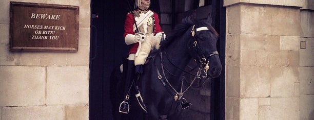 Horse Guards Parade is one of London.