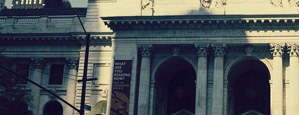 New York Public Library is one of NYC Arts.