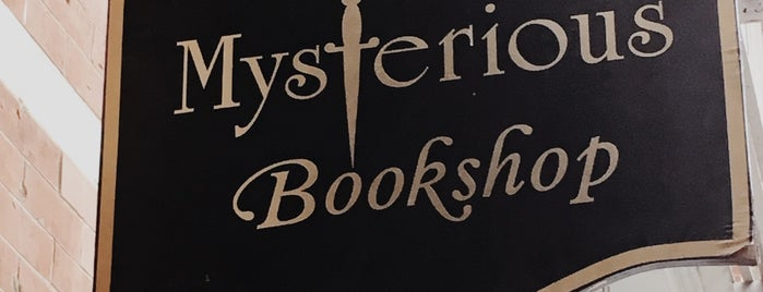 The Mysterious Bookshop is one of Bookstores NYC.