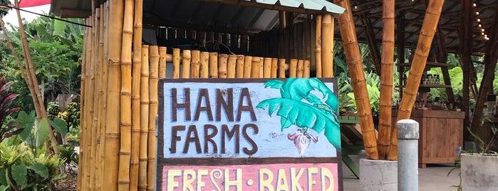 Hana Farms is one of Maui.