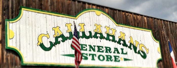 Callahans T V General Store is one of Unique.
