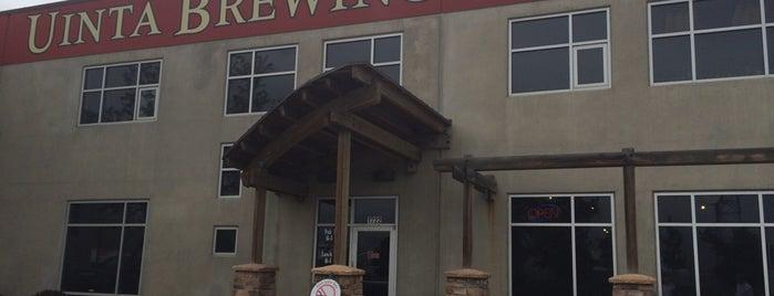 Uinta Brewery is one of Salt Lake Trip.