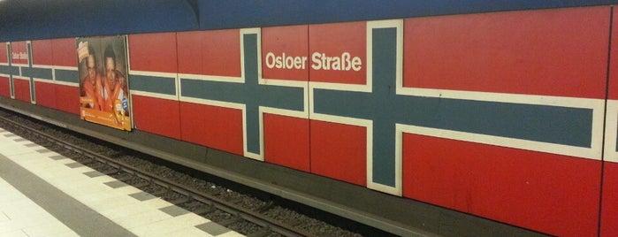 U Osloer Straße is one of U & S Bahnen Berlin by. RayJay.