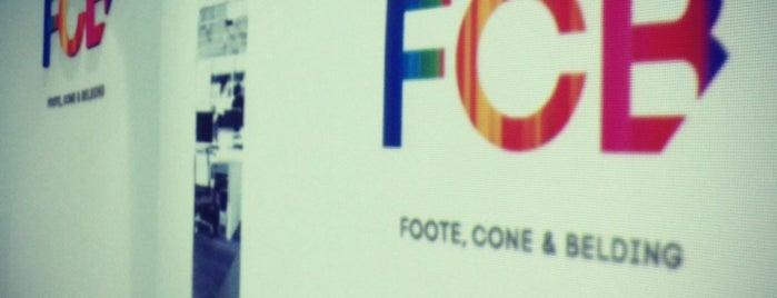 FCB Foote, Cone & Belding is one of Agencias de Publicidad & More.