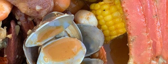 Voodoo Crab is one of LI Places Bucket List:.