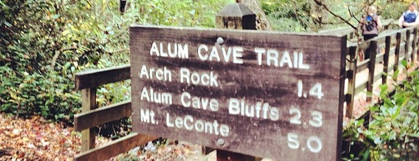 Alum Cave Bluffs is one of Deep South Road Trip.